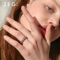 ZENGLIU Network red index finger ring female ins cold wind simple temperament ring fashion personality couple jewelry