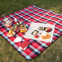 British wind moisture pad outdoor picnic cloth 8mm thick folding portable picnic mat 3m increase moisture-proof mat