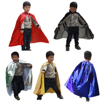 Day Halloween show Costume warrior cloak Warrior mantle king Superman red Cloak set