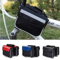 Bicycle bag tube bag saddle bag mountain area mobile phone bag cycling equipment accessories post jiean