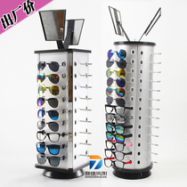 At a loss Yiwu counter prop glasses display frame can be rotated round desktop rack boutique sunglasses glasses shelf
