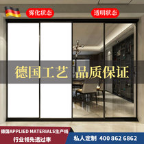 Dimming glass electro-fog glass partition discoloration intelligent privacy glass film projection electronic curtain dimming film