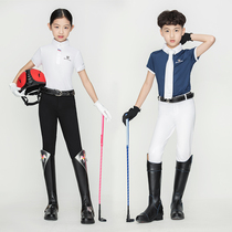 Summer models breathable childrens equestrian pants childrens riding pants elastic fabric wear childrens riding equipment equestrian pants