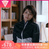 HOTSUIT female explosion Sweat suit joy ode 2 Liu Tao Andy with the same paragraph sports running sweats sweat clothes