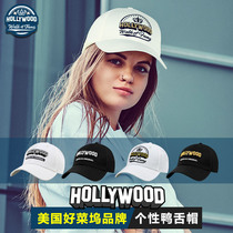 Men's cap female hat female hat baseball cap tide White brand new personality 2019 fashion autumn and winter