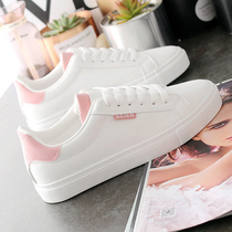 Small white shoes women 2019 new spring wild flat shoes tide shoes autumn white shoes burst 2020 spring shoes