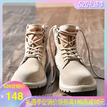 Martin boots mens spring 2019 New York to help workers mens shoes Tide mens boots wild tide shoes high to help military boots