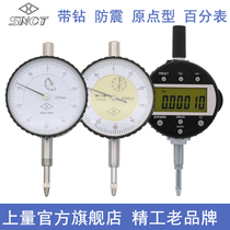Upper-quantity primary electron number-represented percentometer meter 0-12.7-25-50 high-precision altime gauge gauge station depth