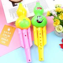 Gourd childrens toys 6-hole gourd clarinet childrens cartoon pattern flute creative baby musical instrument blowing