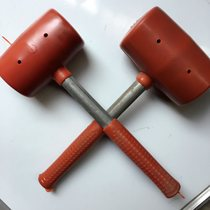 Brick decoration hammer high quality rubber decoration tools hammer rubber hammer porcelain anti-freeze anti-cracking