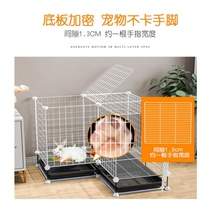 Rabbit cage automatic clean with toilet cage small Dutch pig squirrel cage guinea pig rabbit cage extra large nest rabbit.