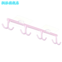 Kitchen strong adhesive hooks without scratching adhesive hooks A row of cabinets to collect hanger multi-function wardrobe hooks.