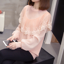 2020 autumn and winter new sweater womens fashion light and familiar wind thin big size fat mm sexy hollow knitwear tide.