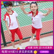 3-5 Kindergarten 4 Summer 8 Boys 9 Girls Short-Sleeve Sports Set 6-13 Year Old School Uniforms