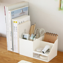 。 Office desk clutter finishing rack folder collection box drawer-type book dormitory desk shelf god
