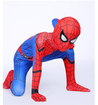 The Amazing Spider-Man children cos Deadpool 2 Iron Man Battle clothing beauty team boys piece tight clothes suit anime