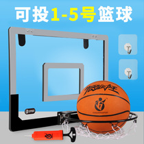 Dormitory basketball Board Indoor and outdoor ball rack frame wall wall child basket child hanging basket basket home dunk machine