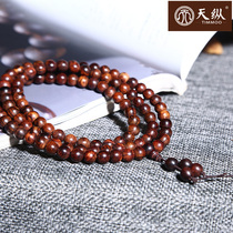 Vietnam Huanghua pear 0 8CM108 pieces of hand string high oil dense old oil pear Buddha beads with material lovers 8mm bracelet