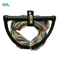 Water-skiing board special rope tail Wave plate roundabout board water sled rope motorboat speedboat yacht drag rope