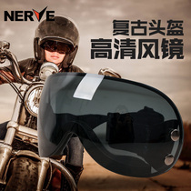 German NERVE motorcycle helmet retro wind goggles goggles Harley Riding lens dustproof glasses