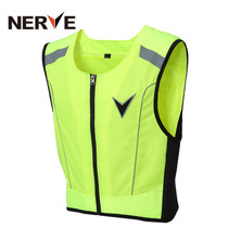 Motorcycle vest German nerve vest riding vest reflective clothing Racing Equipment riding clothes men and women