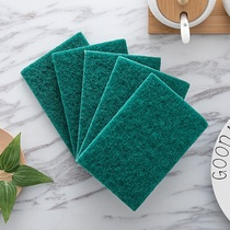 Miao 10 pieces of kitchen cleaning cloth cleaning cloth is not easy to stick oil dish cloth wash pot sponge scrub bowl brush Bowl cloth