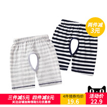 Baby shorts summer open thin section of the boy pants pants cotton pants baby pants 1-3 years old childrens pants