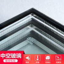 Be made soundproofing insulation coatinglow_e office partition wall doors and windows double-layer multi-layer clamping glue hollow tempered glass.