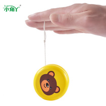 Yo-yo ball wooden children cartoon animal Yoyo toy Puzzle Kindergarten Pupils 4-5-6
