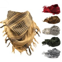 (Daily specials)tactical Arabian scarf scarf magic scarf shawl windproof cotton outdoor scarf