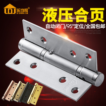 Le home stainless steel invisible door hinge hydraulic buffer automatic door closing with door positioning door spring hinge