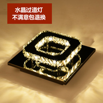led square embedded aisle corridor lights entrance lights modern minimalist balcony entrance hall lamps 20cmqJ