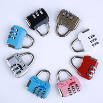 Small lock Mini Metal password lock cartoon drawer lock Cabinet Lock childrens student bag cute small padlock