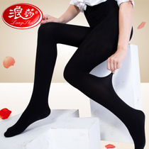 Sasha Bottom Socks female velvet anti-hook cashmere pantyhose spring and autumn black flesh medium thick stockings beauty legs socks