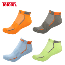 Teloon Tianlong Tennis Socks Cotton Socks Thick Breathable Comfortable Badminton Socks Sports Leisure Socks.