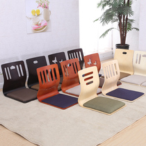 Japanese-style chair tatami chair bed cushion without leg backrest lazy chair Kang chair bed seat and room chair