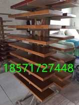 Custom Wuhan Staircase factory Direct-selling rubber wood beech Red rubber pedal board free door-to-home installation