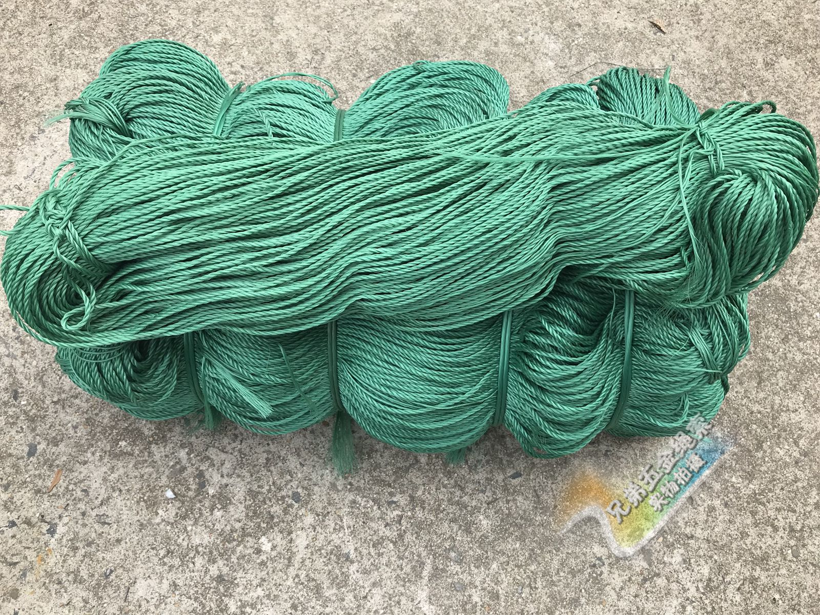 1//20mm Green nylon rope wear-resistant rope clothesline outdoor hand-woven rope