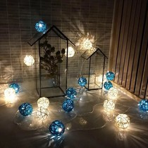 Holiday Lights Family New Year balcony bedroom romantic room decoration indoor Spring Festival Creative Home 2019