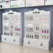 Cosmetics display cabinet partition container shelf display shelf free combination pharmacy showcase beauty products display cabinet