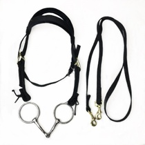 2018 new saddle harness color size short horse water halter mouth chewing full set of horse cage equestrian supplies