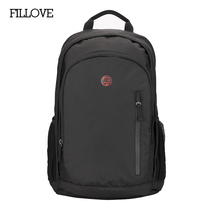 Fillove mens and womens backpack outdoor travel bag double shoulder bag student schoolbag Large capacity sports leisure computer bag