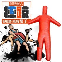 Fire training dummy simulation rescue dummy anti-carrying weight competition hard software dummy than wu wrestling dummy