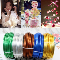 Handmade wire thick color Enameled Aluminum Wire technology operation doll modeling 1002 cake decoration digital bonsai stereotypes