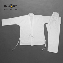 FLUORY fire base beginner Karate clothes adult men and women children karate training suit competition suit custom