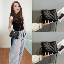 Bag 2019 new small ck womens bag autumn and winter fashion wild ladies Korean version single shoulder cross-body chain bag ins tide