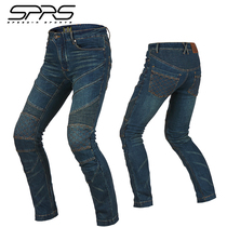 sprs riding pants men motorcycle motorcycle pants racing pants slim jeans Four Seasons women high-rise anti-fall summer