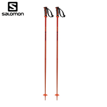 Salomon Salomon W19 new men and women double-board ski poles lightweight aluminum rod body ARCTIC