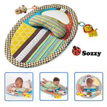 Popular new Sozzy childrens game blanket baby crawling pad baby diapers anti-permeable lie lie pillow pillow