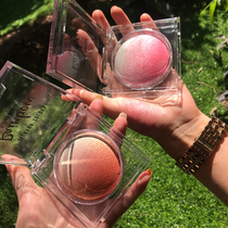Thailand siweina blush high light one dish with the Red net Orange genuine nude makeup natural pearl sun red female cream